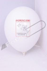 Balony z helem w prezencie dla klientów